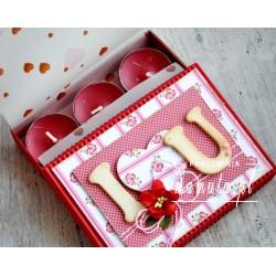 Walentynkowy upominek- pachnące świeczki