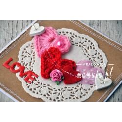 Walentynka -sznur serc