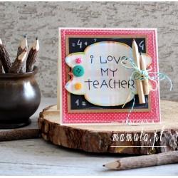 Kartka z podziękowaniami dla nauczyciela