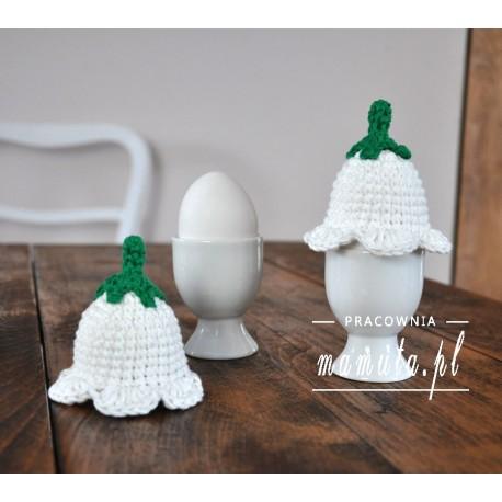 Szydełkowe ocieplacze na jajka 4szt