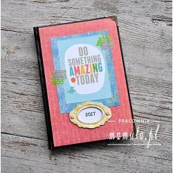 Kalendarz książkowy A5 - układ dzienny