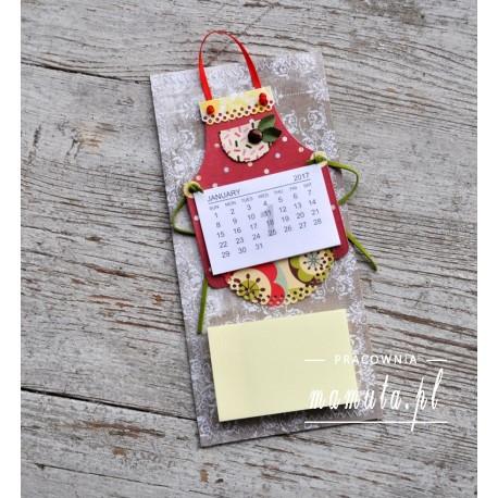 Lodówkowy zapiśnik z kalendarzem 2017