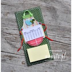 Lodówkowy zapiśnik z kalendarzem 2018