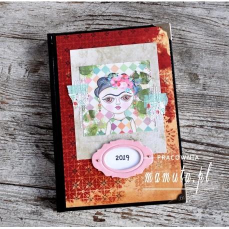 Kalendarz książkowy A5 - układ dzienny 2019